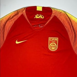 Nike China Home soccer jersey 2018